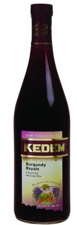 Kedem Burgundy Royale Kosher